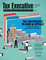 Jan-Feb 2020 Tax Executive Magazine