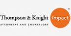 Thompson & Knight LLP Bronze Sponsor
